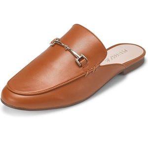 Mule FlatPointed Toe Backless Slipper Slip On